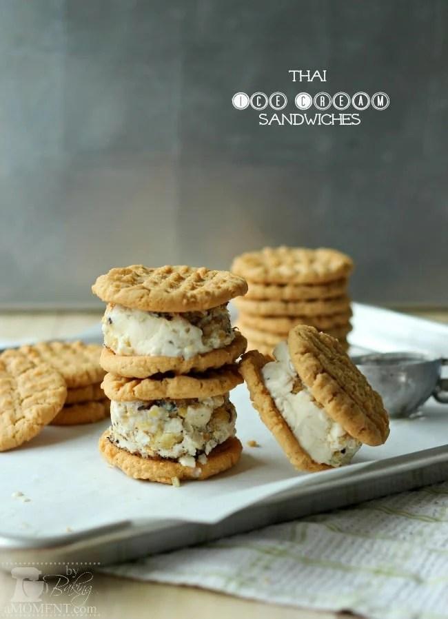 Thai Ice Cream Sandwiches | Baking a Moment