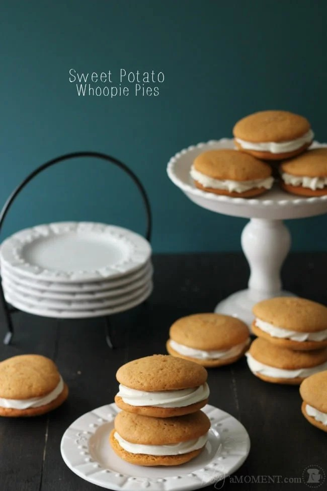 Sweet Potato Whoopie Pies   Baking a Moment