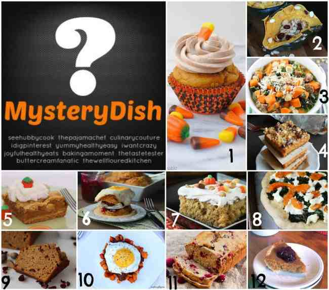 Mystery Dish October Collage