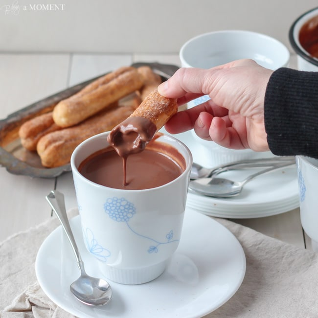 European-style Hot Chocolate | Baking a Moment