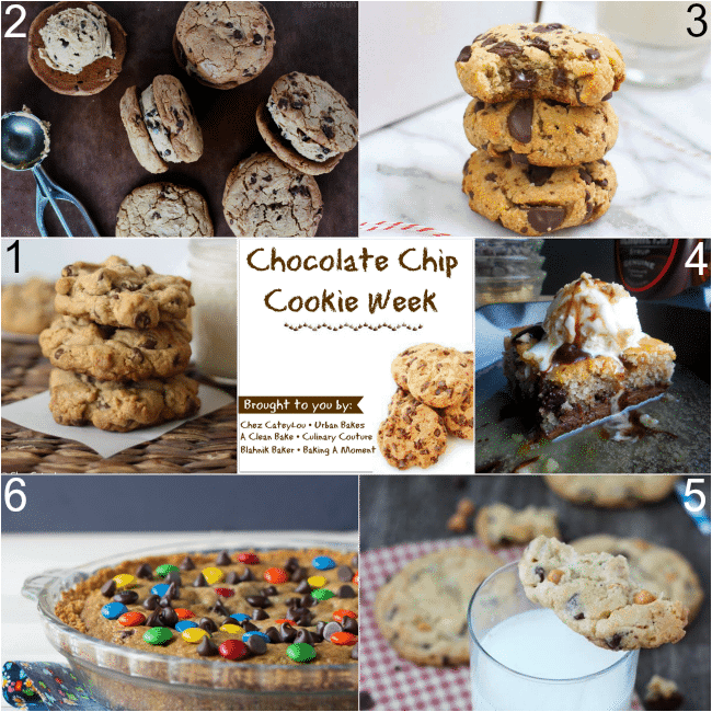 6 Fab Recipes for #ChocChipCookieWeek | Baking a Moment