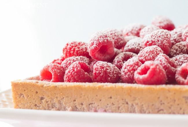 Raspberry Magic Custard Cake | Baking a Moment