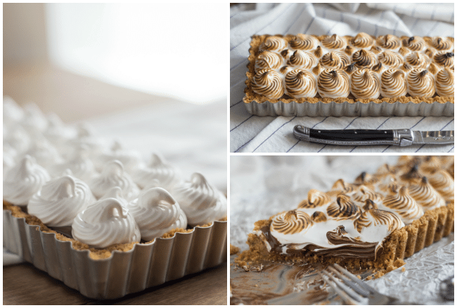 Nutella S'mores Tart | Baking a Moment