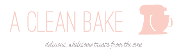 A Clean Bake Header - with logo copy