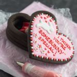 Chocolate Graham Cracker Cookie Box, and a free Printable Valentine