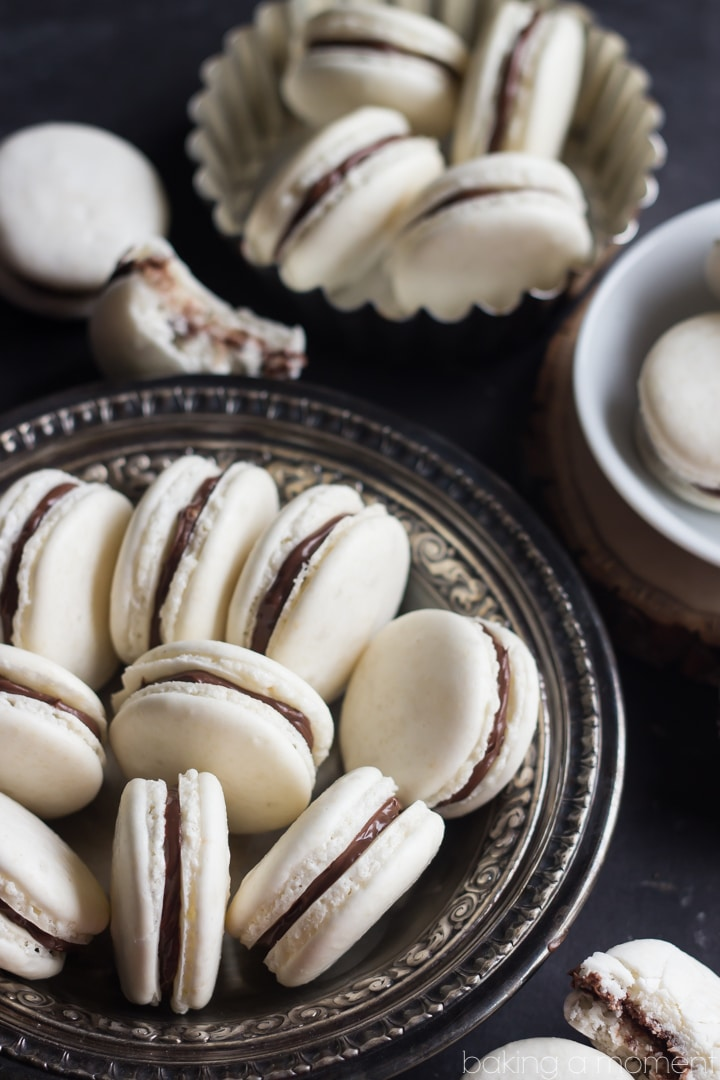 How to make basic macaron shells.  These really aren't that hard!