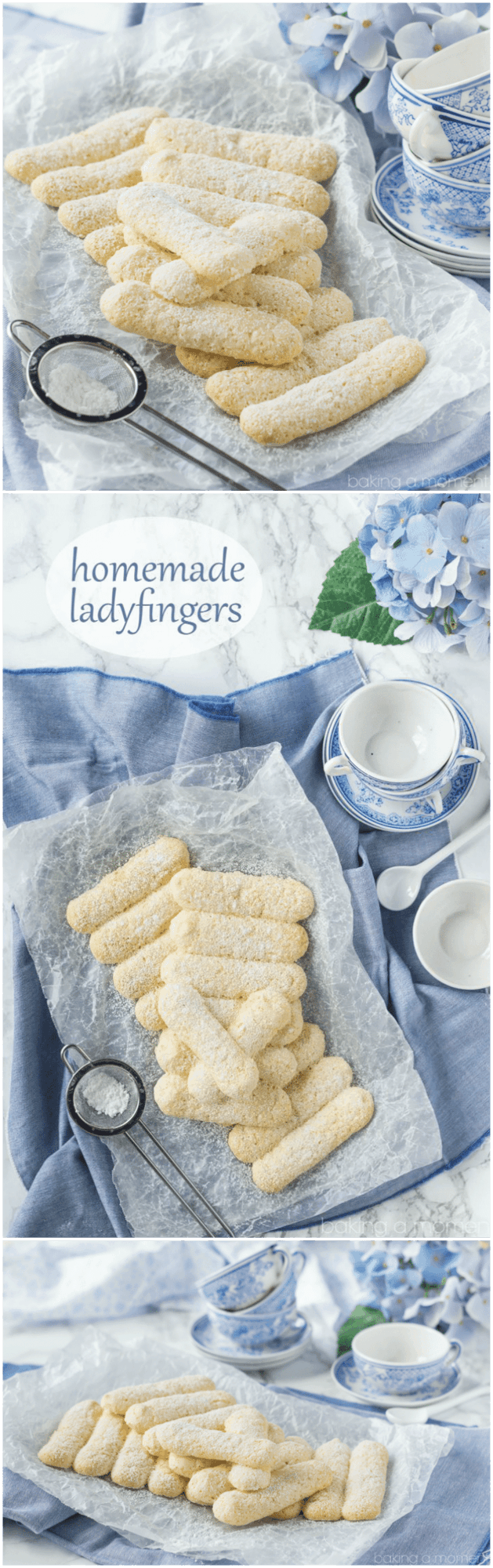 Homemade Ladyfingers- I've always wondered how to make these! Next time I make tiramisu I'll use this recipe ;)