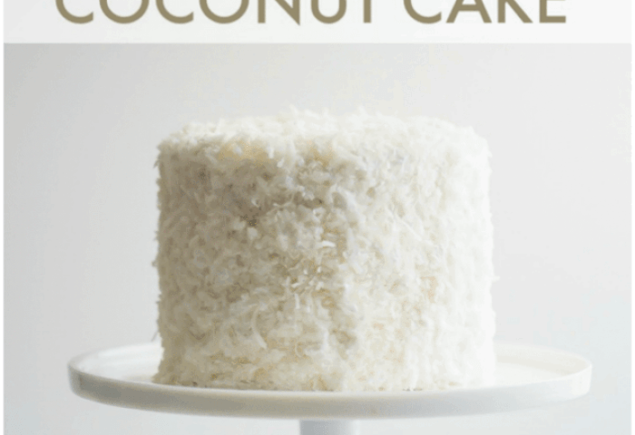 Coconut Cake Baking A Moment
