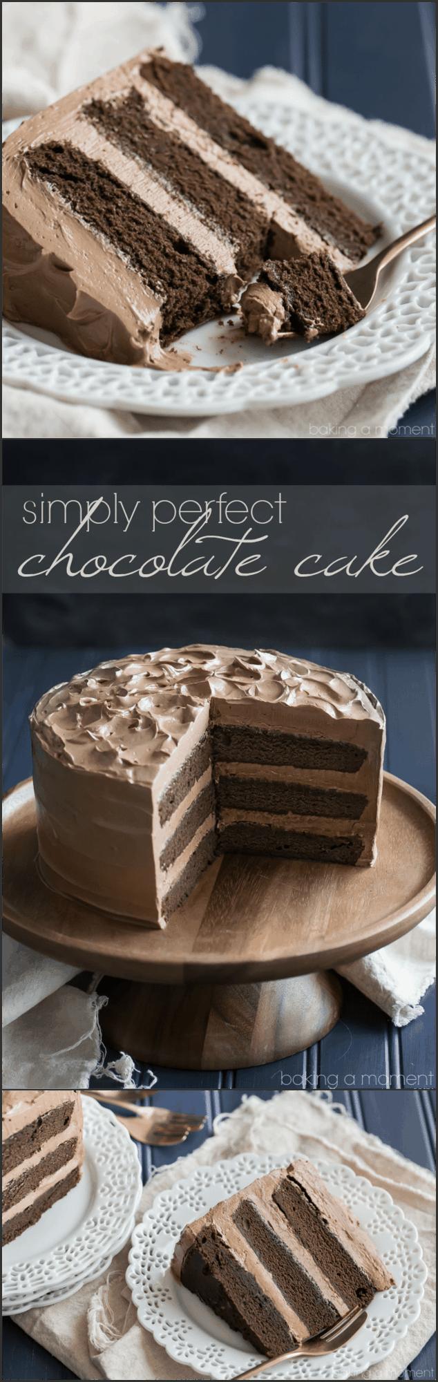 Natalie moist chocolate cake