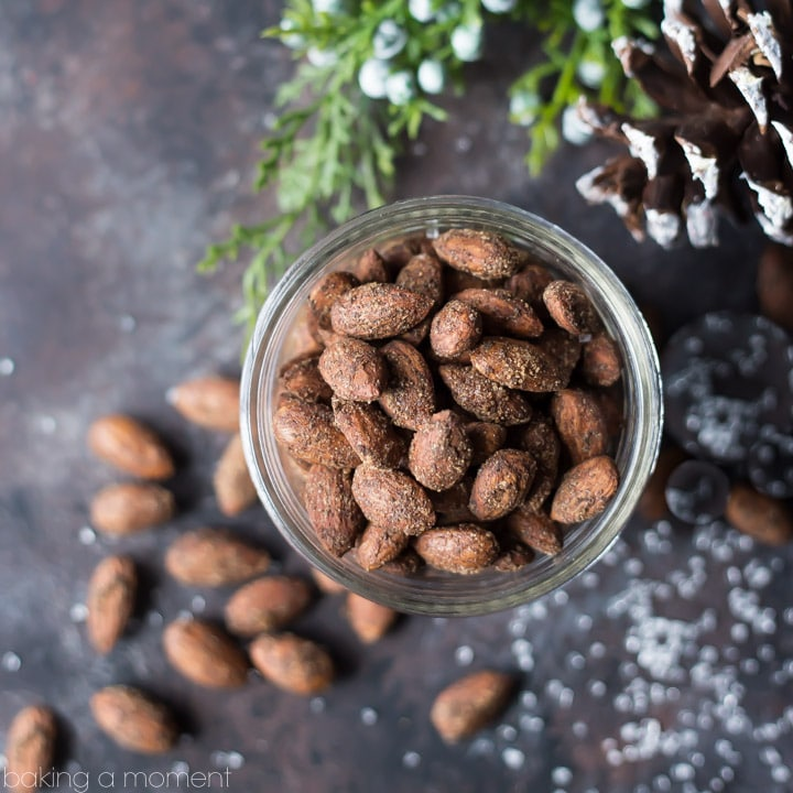 Gingerbread Spiced Almonds