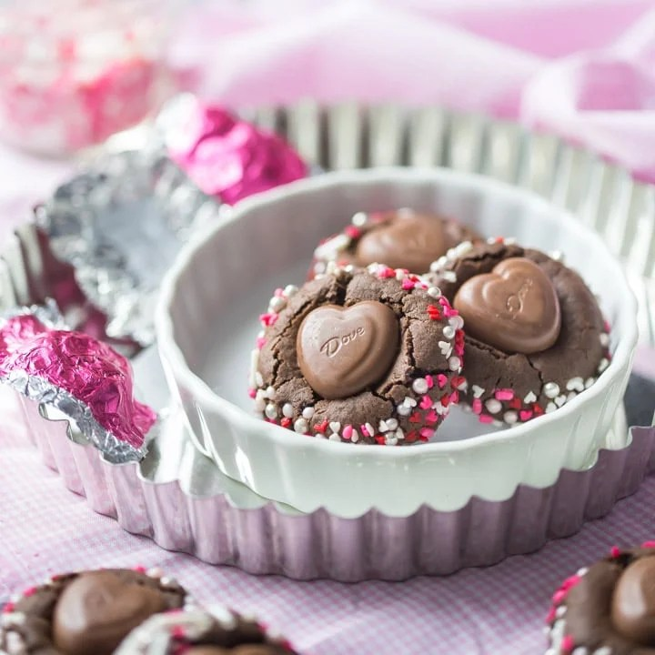 Chocolate Heart Blossoms