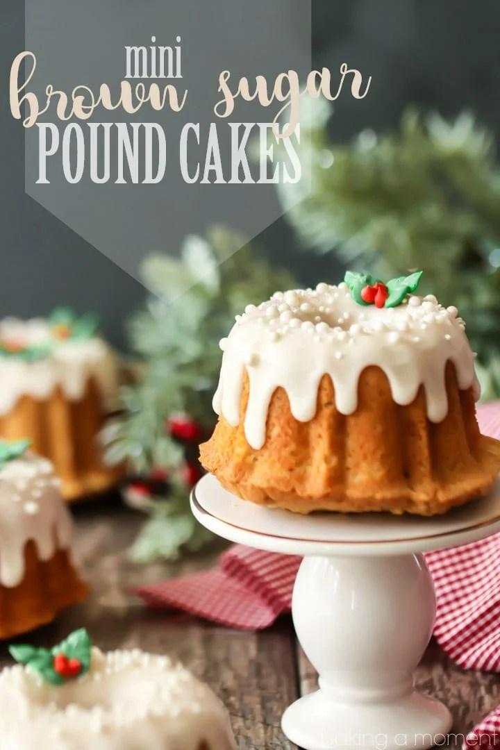 Brown Sugar Pound Cake Domino
