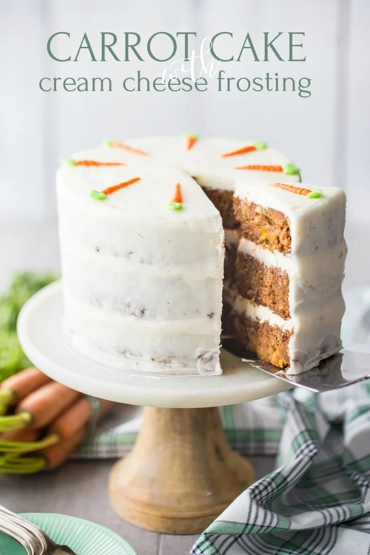 Triple Layer Carrot Cake With Pineapple