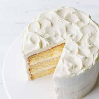 Best Vanilla Cake from Scratch