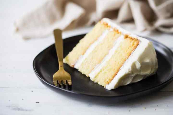 Moist Homemade Vanilla Cake