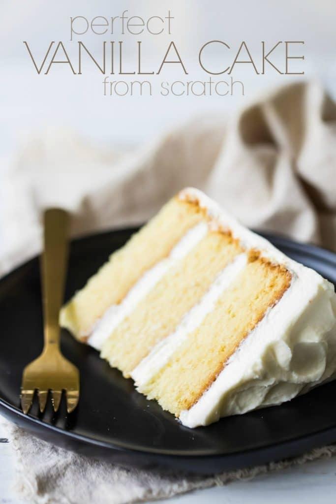 Perfect Vanilla Cake Recipe So Moist Amp Easy To Make