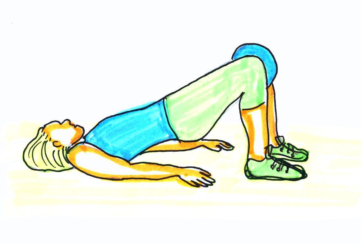 inflammation höft träning