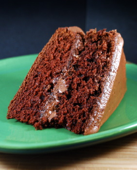 Applesauce Chocolate Layer Cake