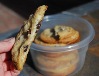 Cream Cheese-Stuffed Chocolate Chip Cookies