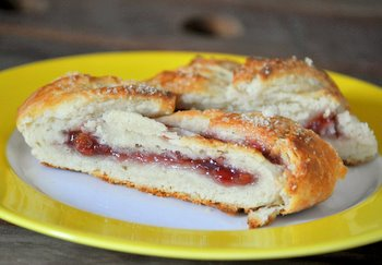 Cherry Jam Braided Danish