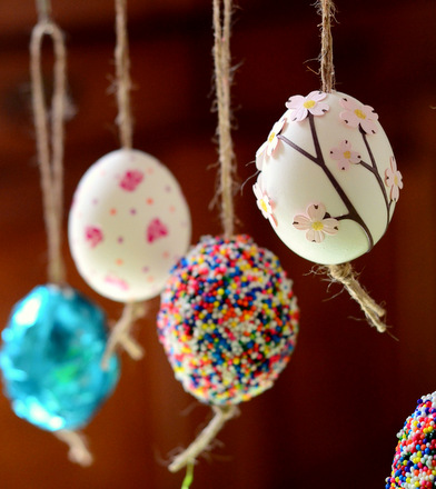Baking Bites For Craftsy Diy Hollow Easter Egg Ornaments