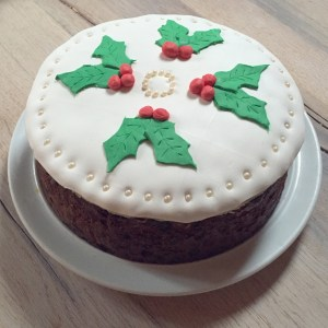 Traditional English Fruit Cake