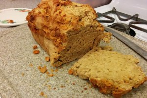 cali creamin butterscotch beer bread