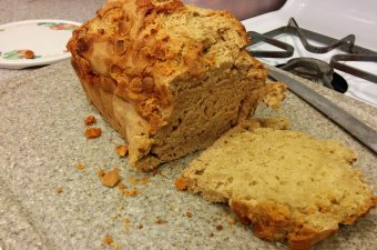 Cali Creamin' Butterscotch Beer Bread