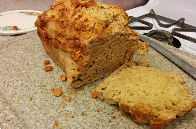 cali creamin butterscotch beer bread