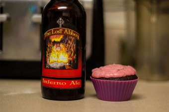 Inferno Cinnamon Spice Cupcakes