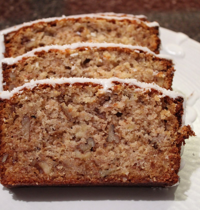 Banana and Honey Cake