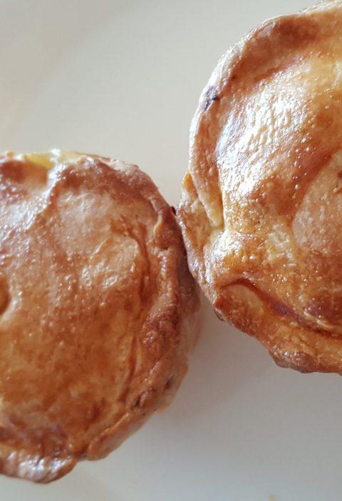 pork pie filling in hot water crust pastry