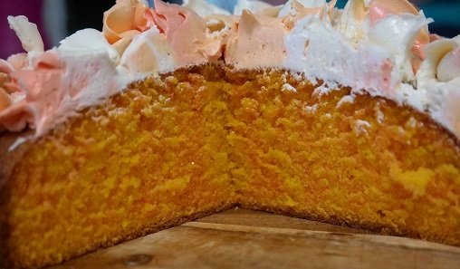 Orange and Lemon Surprise Cake