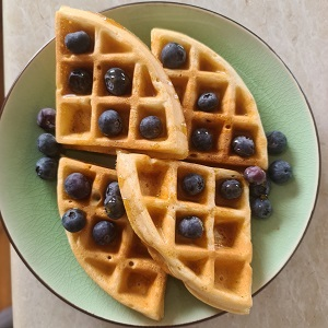 sour dough waffles
