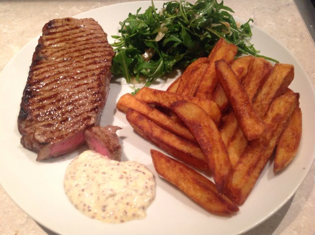 steak and chips supper