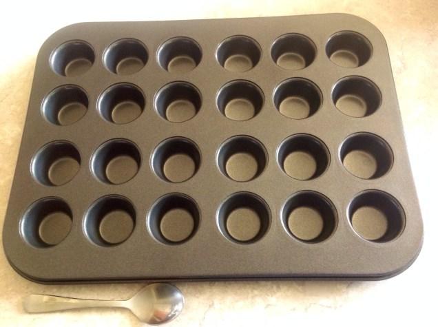 Mini muffin tin