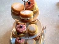 Mini Victoria sandwich cakes