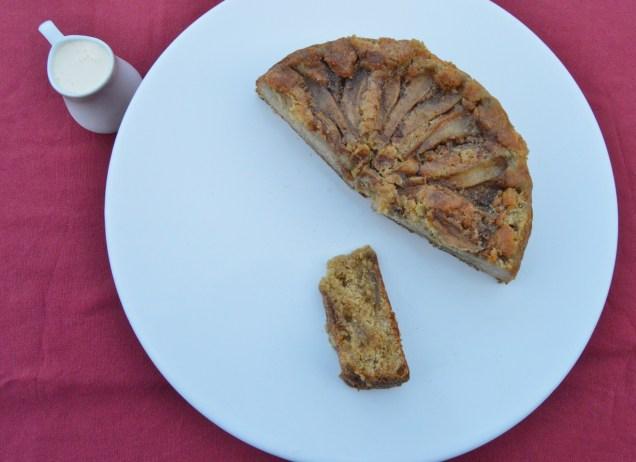 Pear & ginger cake