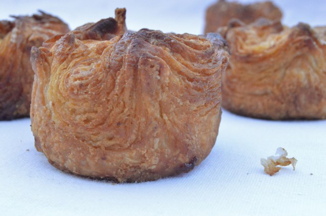 Kouign-Amann: you should be able to see the caramelised layers