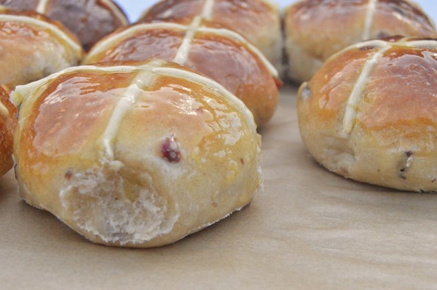 hot cross buns with attitude!
