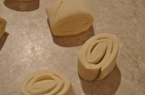 pastry cut into pieces