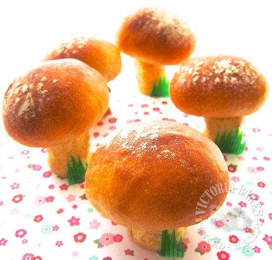 mushroom bread