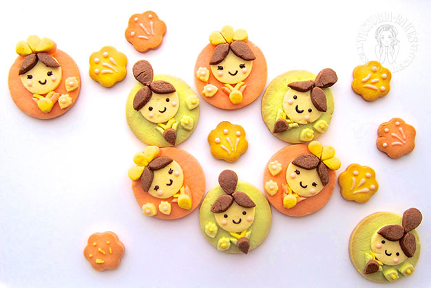 japanese dolls icebox cookies