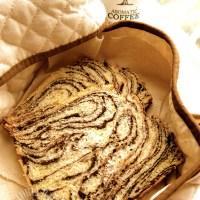 hokkaido milk chocolate marbled loaf ~ Bake Along #52 ♪♪(o*゜∇゜)o~♪♪ 北海道牛奶巧克力大理石面包