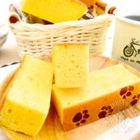 gold bar sponge cake (cooked dough method) 来份金当当的烫面黄金蛋糕