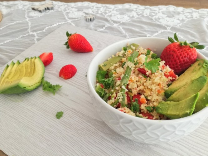 Bürolunch #4: Superfood-Bowls mit Couscous-,Hirse- oder Quinoa