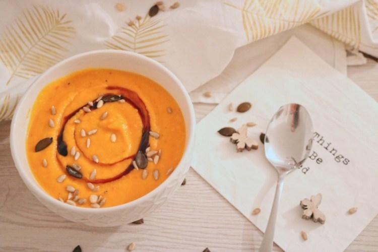Cremige Kürbis-Kokos Suppe