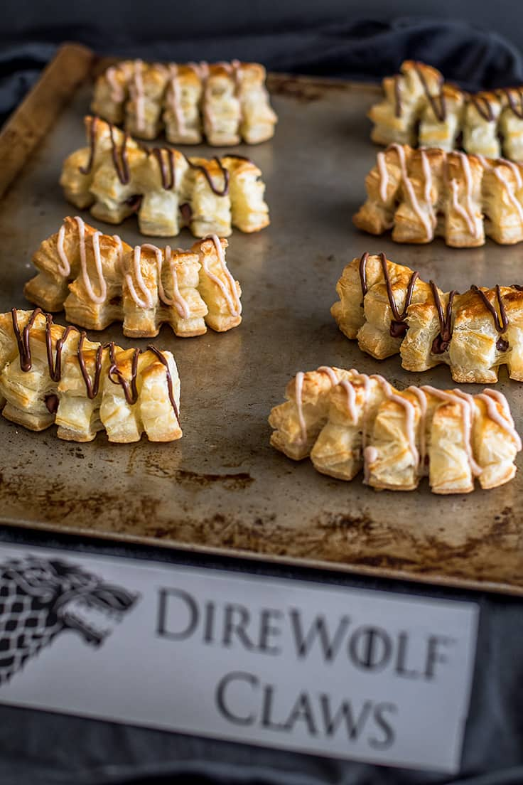 These Game of Thrones-inspired Direwolf Claws are flaky, fabulous, and so easy to make!