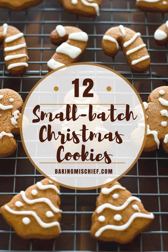 Twelve days of Small-batch Christmas cookies and Christmas movie recommendations. | #Christmas | #ChristmasCookies | #ChristmasMovies | #DessertsForTwo |