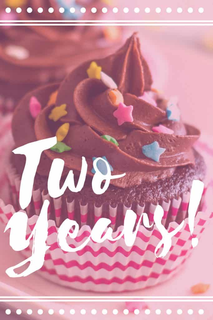 Let's celebrate! Baking Mischief turns two years old today!